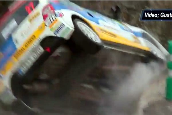 Vídeo del accidente de Marco lorenzo, Rally Islas Canarias 2012