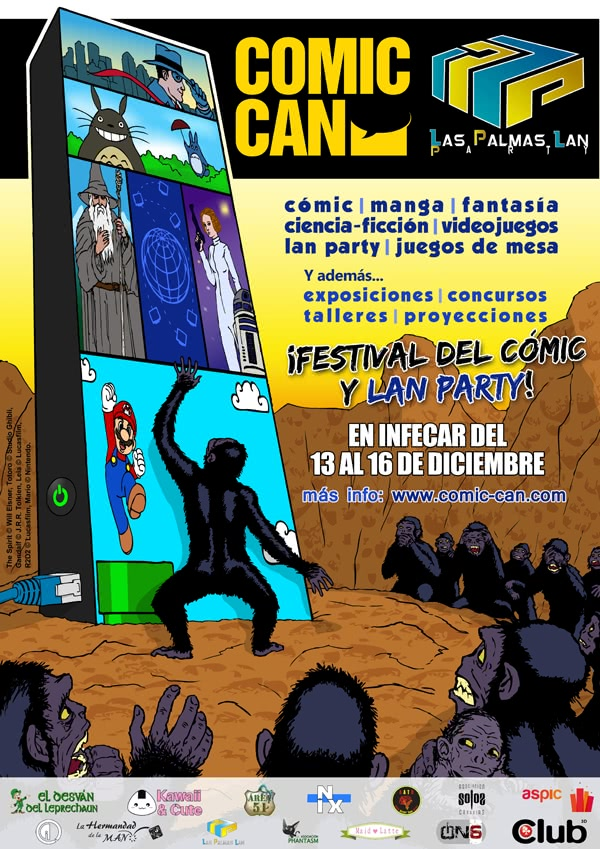 COMIC-CAN y Lan Party 2012 en Las Palmas de Gran Canaria