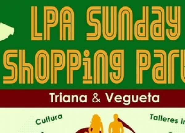 Las Palmas de Gran Canaria acoge este domingo la 9 edición LPA Sunday Shopping Party