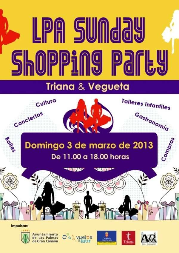 'LPA Sunday Shopping Party' la apertura de la zona comercial Triana-Vegueta