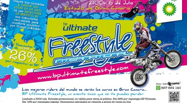 BP Ultimate Freestyle en el Estadio Gran Canaria