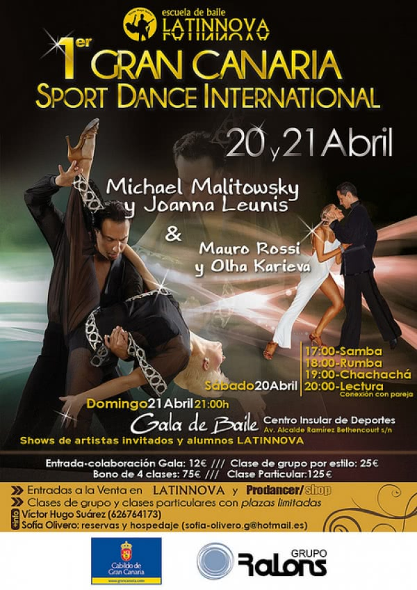 Fotos del Gran Canaria Sport Dance International